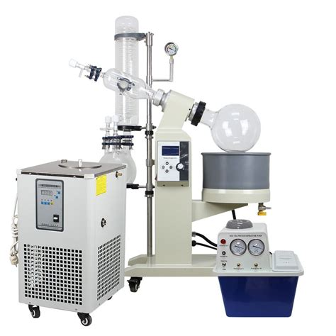 rotary vaccum evaporator 5l rotary evaporator complete turnkey package w water