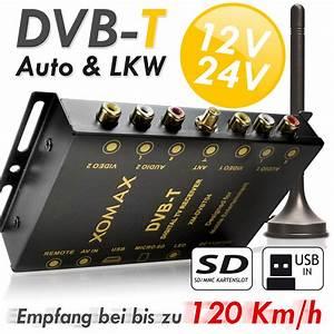 Dvb T2 Gebühren : dvb t tuner kfz auto receiver box antenne 12 24v sd usb 2x ~ Lizthompson.info Haus und Dekorationen