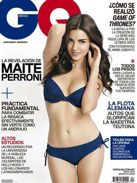 una lady como tú swimsuit maite perroni pos 243 en ropa interior para revista masculina