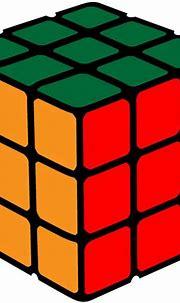 Rubik's Cube Vector Image - ClipArt Best - ClipArt Best