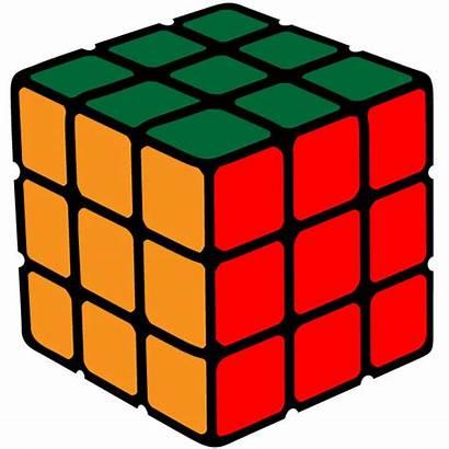 Cube Rubik Vector Clipart Magic Cubes Clip