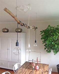 Hängelampe Selber Machen : deko mit sten diy pinterest deko ast und beleuchtung ~ Frokenaadalensverden.com Haus und Dekorationen