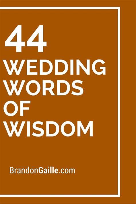wedding words  wisdom messages  communication