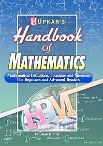 Download Handbook Of Mathematics By Dr  Alok Kumar Pdf Online