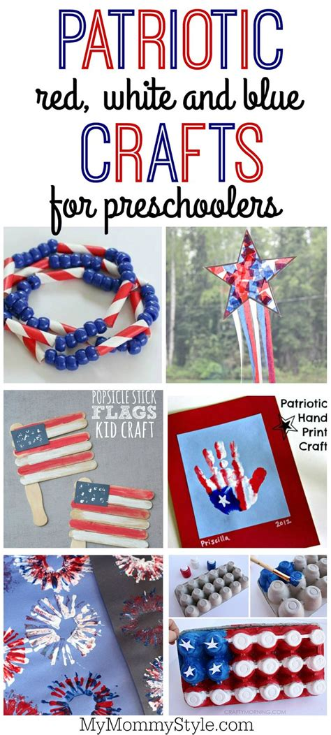 patriotic white and blue crafts for for 4th of 330 | 53eadd628ce6acaf681d587bcc3d6863