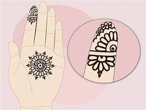 How to Design a Simple Indian Engagement Mehndi: 12 Steps