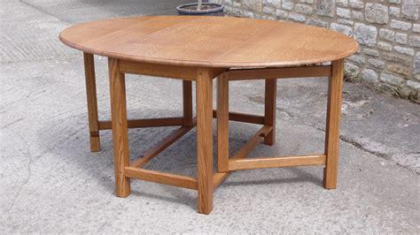gateleg table affordable oval gateleg table with center