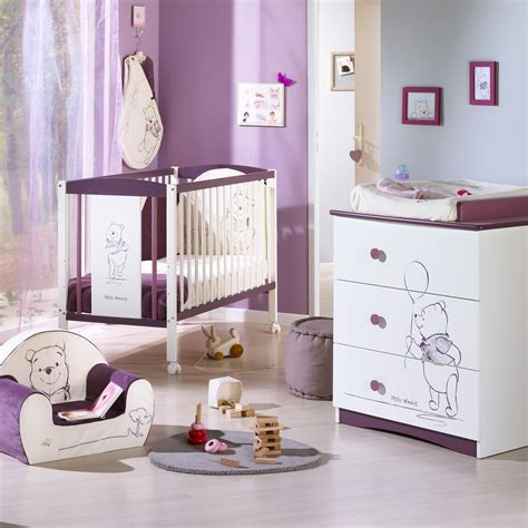 chambre bebe aubert awesome chambre bebe winnie lourson sauthon contemporary