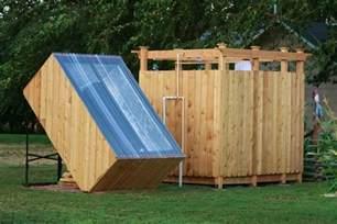 Solar Camp Shower Image