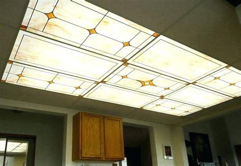 drop ceiling lighting options led light fixtures