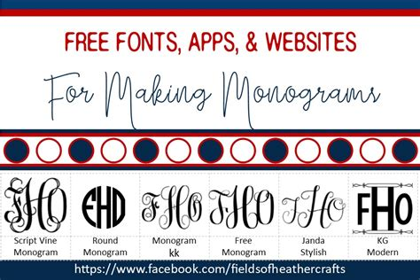 fonts svgs  monograms
