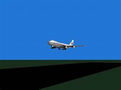 Boeing 747 Japan 123 Airlines Aterriza Avion
