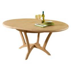 Oak Leaf Furniture by Stockholm Dining Round Extending Dining Table Lenleys