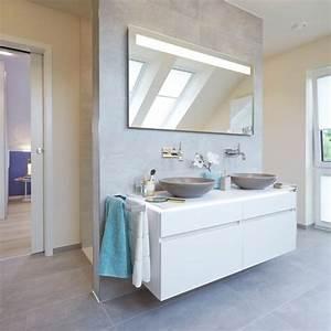 Fliesen An Wand : badezimmer mit vorwand f r waschtisch und r ckwand f r die ~ Michelbontemps.com Haus und Dekorationen