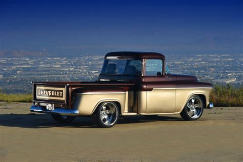 first chevy 1955 chevy pickup first in power second series rod