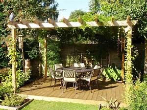 tonnelle de jardin fer forge 4 amenagement pergola With lovely decoration jardin zen exterieur 4 deco jardin zen