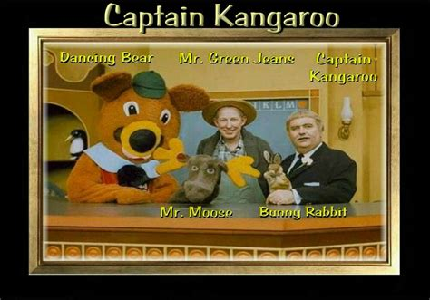 Magnet Television Captain Kangaroo 1960s Green Jeans