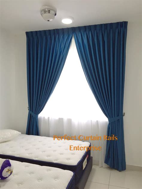 perfect curtain rails ent added   photo perfect