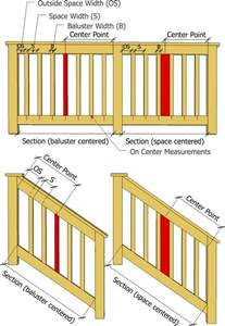 deckscom stair calculator decks baluster spacing calculator