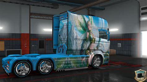 scania rs longline scania  longline fairy truck skins