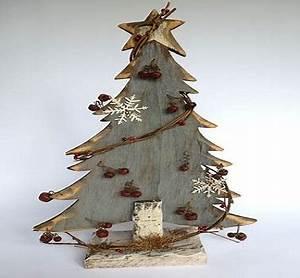 Arbre De Noel En Bois : sapin de noel original decoupe dans du bois ~ Farleysfitness.com Idées de Décoration
