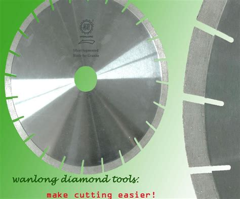 china 450mm edge saw blade for cutting granite