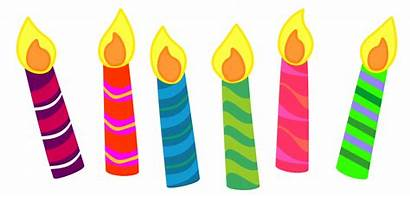 Candle Clipart Birthday Classroom Clip Transparent Printable