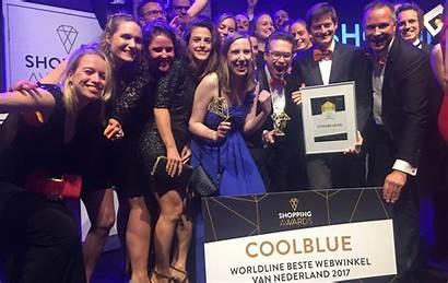 Coolblue Awards Wint Tijdens Shopping Mrt Minuten