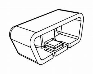 2014 Dodge Grand Caravan Cover  Diagnostic Connector