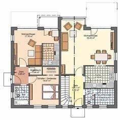 Fertighaus Kosten Gesamt : og mit zweitem bad balkon ankleide grundrisse okal haus zweifamilienhaus fn 104 134 b v3 ~ Sanjose-hotels-ca.com Haus und Dekorationen