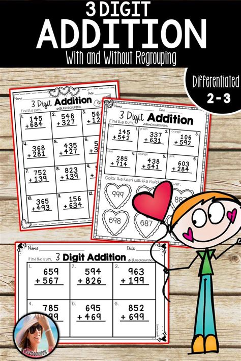 digit addition    regrouping  images