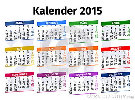 german calendar stock photo cartoondealercom