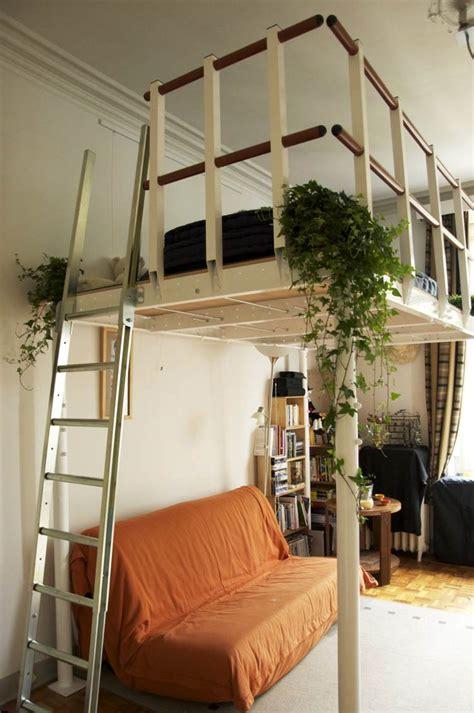 lit mezzanine  choix pratique confortable  moderne