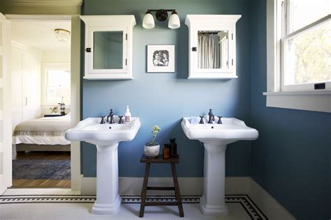 Blue Bathroom Ideas Pictures by 11 Beautiful Blue Bathrooms