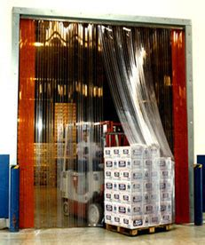 full rib pvc strip curtains strip doors industrial