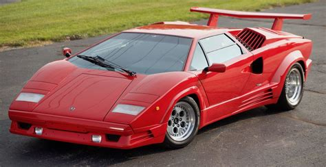 "1989 Lamborghini Countach 25th Anniversary ""Downdraft ..."
