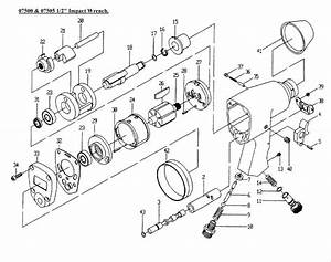 Sip 07500  U0026 07505 1  2 U0026quot  Impact Wrench Diagram