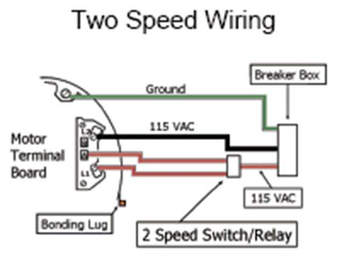 Wiring For Whisperflo Dual Speed Inyopools