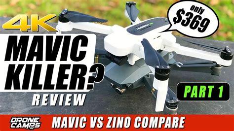 dji mavic killer hubsan zino  drone  compare flights range honest review firecampx