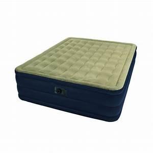 Lit D Appoint Gonflable : lit d 39 appoint plush bed 2 personnes intex achat ~ Melissatoandfro.com Idées de Décoration