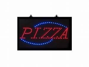 Tableau Lumineux Message : tableau led avec affichage du message pizza ~ Teatrodelosmanantiales.com Idées de Décoration
