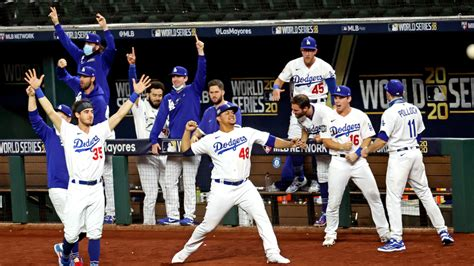 dodgers win  world series title    game