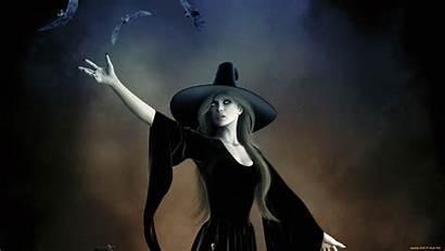 Witch Fantasy Background Gothic Wallpapers Dark Pagan