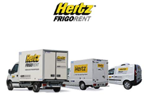 hertz siege social location véhicule frigorifique semi remorque frigorifique
