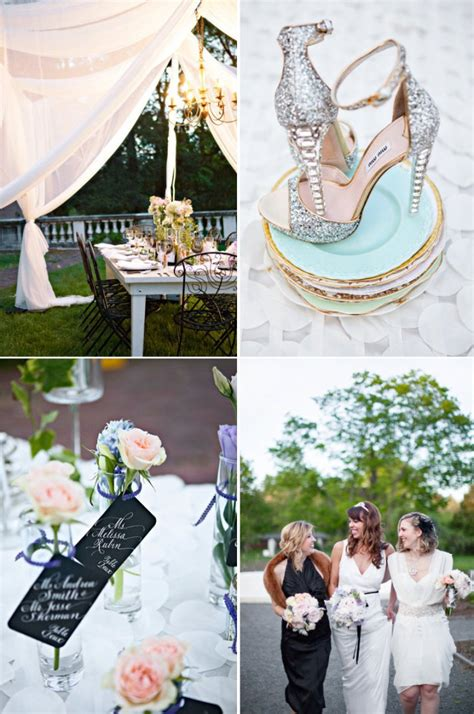 Glamorous Great Gatsby Wedding Inspiration OneWed