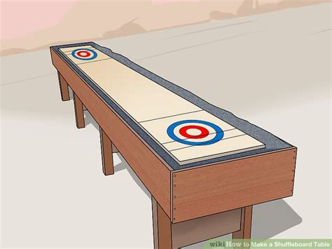 making a shuffleboard table how big is a regulation shuffleboard table designer
