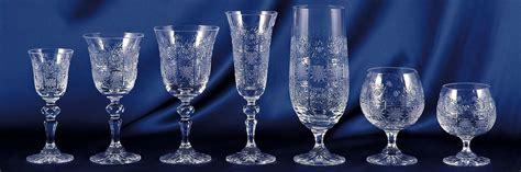 bicchieri cristallo boemia bicchieri coppe calici in cristallo di boemia comprare