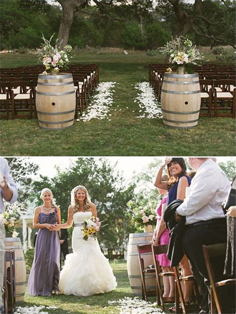 Untry  Ee  Wedding Ee  Ys To Use Wine Barrels