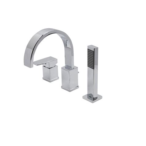 anzzi nite series single handle deck mount roman tub