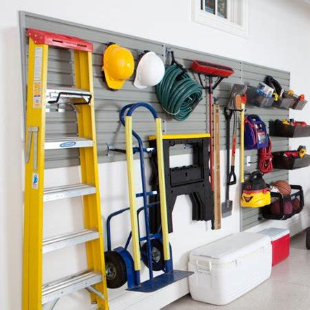 garage wall organization systems flow wall systems flow wall 48 foot garage and hardware